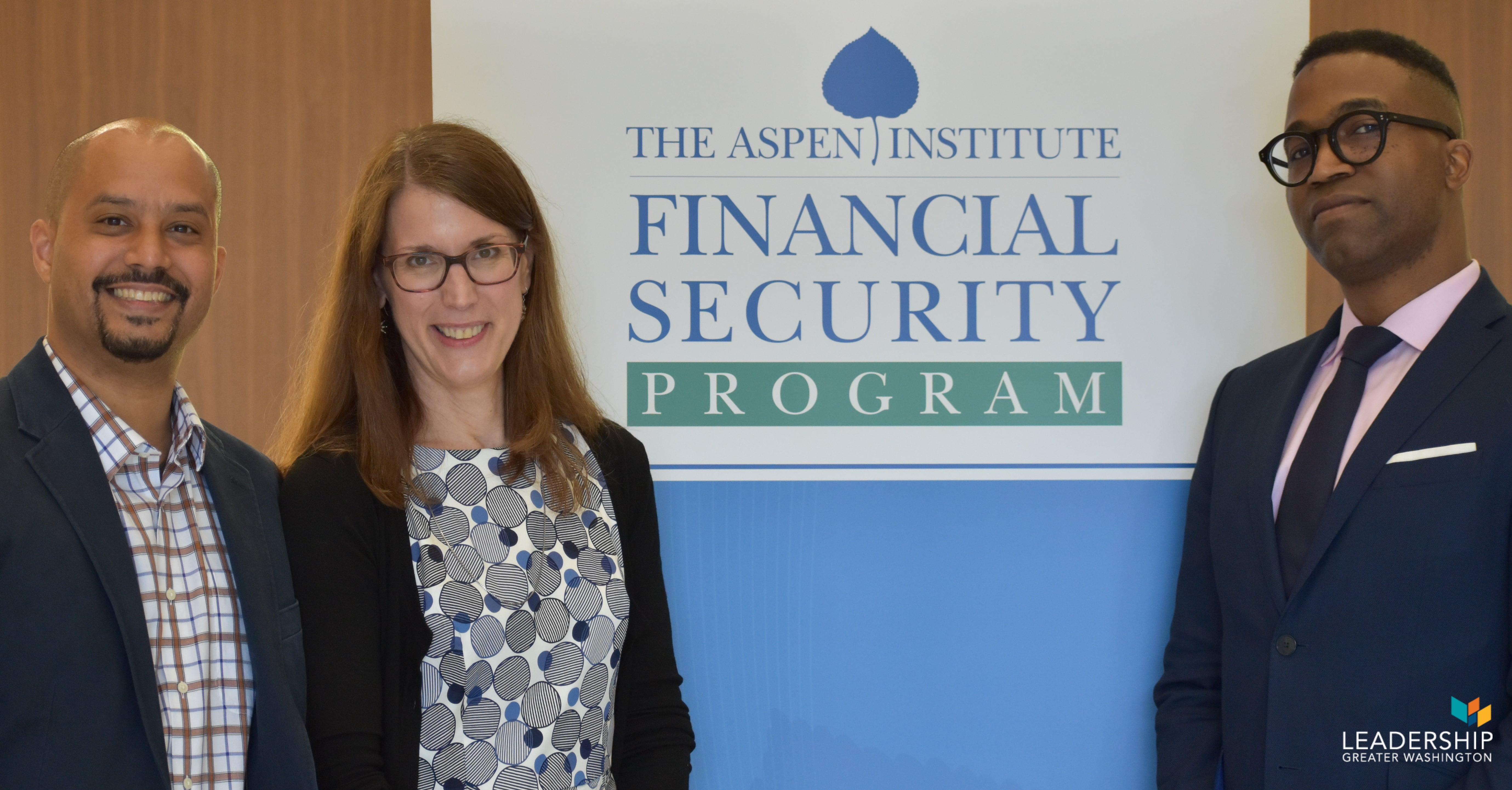 Co-authors of Credit Where It's Due at The Aspen Institute