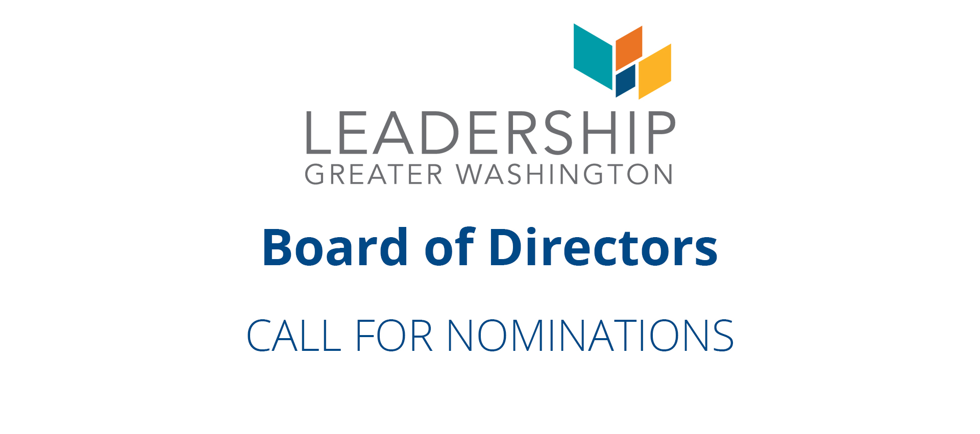 Board of Directors - Call for Nominations